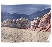 Red Rock, Las Vegas, Nevada Poster