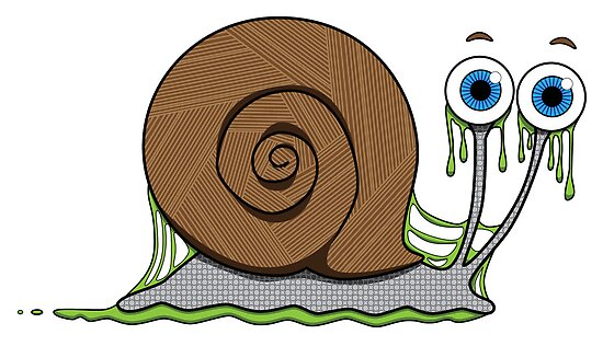 Slimy Snail by abcanimals