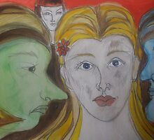 Cinderella and those Sisters by Anthea  Slade