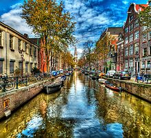 Amsterdam in Autumn by Svetlana Sewell