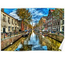 Amsterdam in Autumn Poster