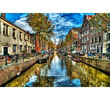 Amsterdam in Autumn Photographic Print