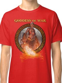 Goddess of War (collaboration with Miss Sinister Cosplay) Classic T-Shirt