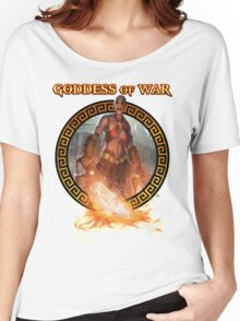 Goddess of War (collaboration with Miss Sinister Cosplay) Women's Relaxed Fit T-Shirt