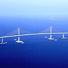 Sunshine Skyway Bridge over Tampa Bay by FLY911