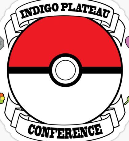 Indigo Plateau conference Sticker