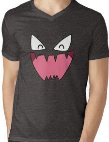 Haunter Face Mens V-Neck T-Shirt