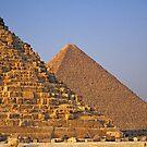 Pyramids of Khufu (Cheops) and Khafre (Chephren), Egypt  by Petr Svarc