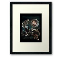 Three Raptors and a Pratt Framed Print