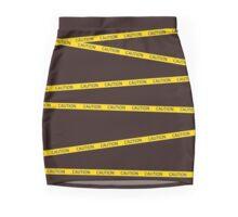 Caution Mini Skirt