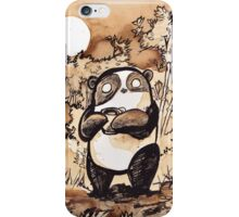 Coffee Panda iPhone Case/Skin