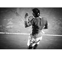 Rafa fist pump Photographic Print