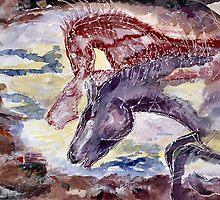 Thundering Hooves by Shoshonan