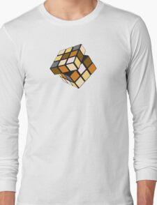 Rubiks Bear Long Sleeve T-Shirt