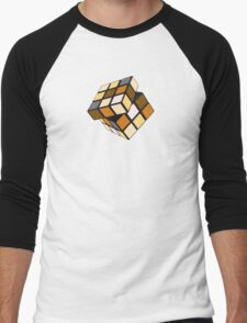 Rubiks Bear Men's Baseball ¾ T-Shirt