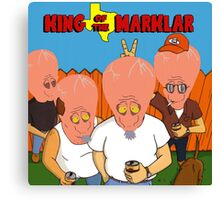 King of the Marklar Canvas Print