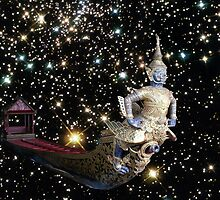 Royal Barge to the stars by Gregory A.  Smith