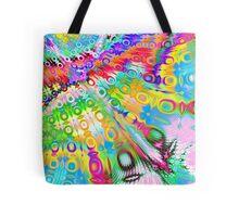 Tie Dye Rainbow Tote Bag