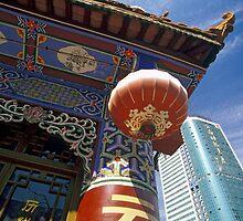 Skyscraper and Pagoda, Kunming, Yunnan, China  by Petr Svarc