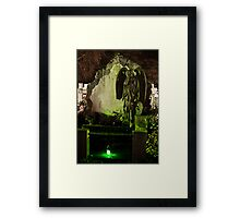 Weeping Angle Framed Print