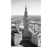 Terminal Tower ca. 2015  Photographic Print