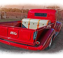 My Red Truck,.......I Wish ! by JohnDSmith