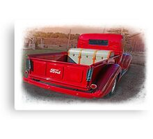 My Red Truck,.......I Wish ! Canvas Print