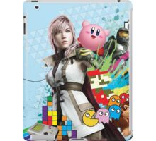 Video Games Mix (1) iPad Case/Skin