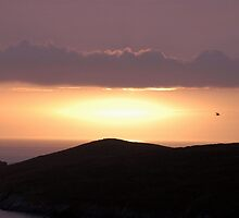 Crantock Beach Sunset by jrfphotography