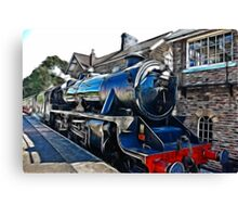 Redfield Steam Train Canvas Print