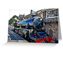 Redfield Steam Train Greeting Card