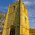 Church Tower - Romaldkirk Co Durham by Trevor Kersley