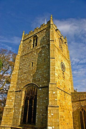 Church Tower - Romaldkirk Co Durham by Trevor Kersley