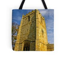 Church Tower - Romaldkirk Co Durham Tote Bag