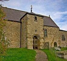 All Saints Church - Old Byland by Trevor Kersley