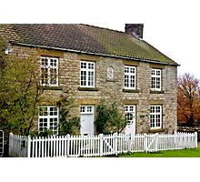 Cottages  c1892 Old Byland-North Yorkshire. Photographic Print