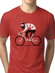 Let's Ride Bicycle Tri-blend T-Shirt