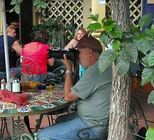 Crowd-Watching at Cinco de Mayo by Susan Russell
