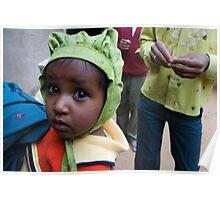 Rajasthani Child Poster