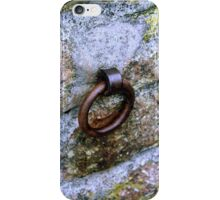 Hook on the wall iPhone Case/Skin