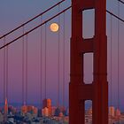San Francisco Thorough the Golden Gate by Justin Baer