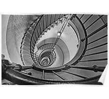 Spiral Descent Poster