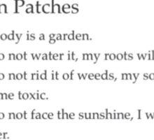 Skin Patches Sticker