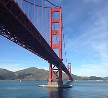 Golden Gate Bridge by HaileyAnnArt