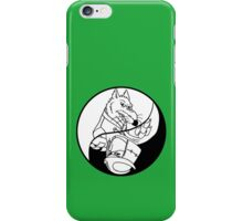 TMNT - Yin Yang - Splinter & Shredder 01 - White iPhone Case/Skin