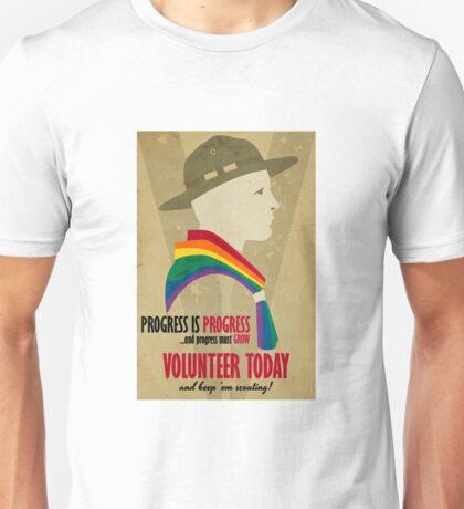 Progress Must Grow Unisex T-Shirt
