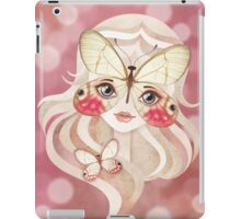 Merolina Moth Girl iPad Case/Skin