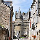 Small Castle in Vitre by April Anderson