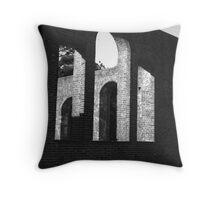 old  church Throw Pillow