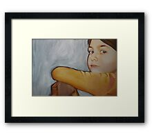Empty space Framed Print